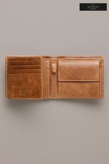 Next Signature Italian Leather Extra Capacity Wallet