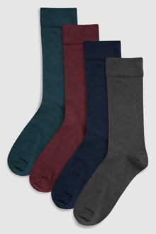 Next Signature Modal Blend With Cashmere Socks Four Pack