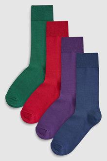 Next Supima Cotton Socks Four Pack