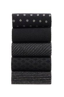 Next Formal Mix Pattern Socks Five Pack