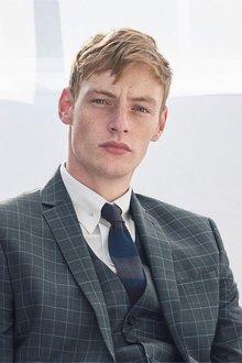 Next Block Stripe Knit Tie