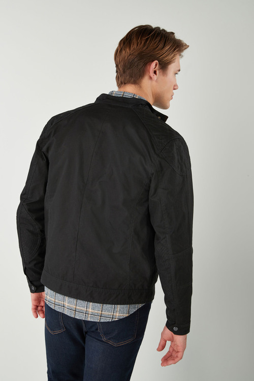 Next Wax Biker Jacket
