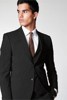 Next Stretch Tonic Suit: Jacket-Super Skinny Fit