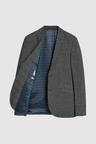 Next Super Skinny Fit Check Suit: Jacket
