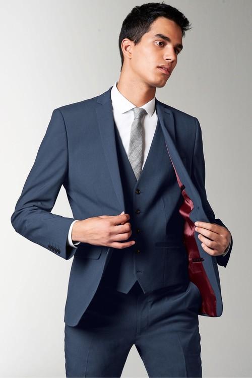 Next Stretch Tonic Suit: Jacket-Regular Fit