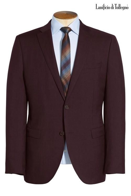 Next Signature Plain Suit: Jacket-Skinny Fit