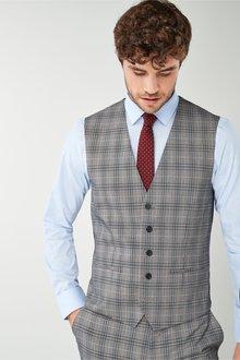 Next Check Suit: Waistcoat - 226508