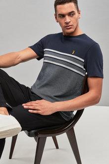 Next Block Stripe T-Shirt