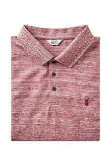 Next Long Sleeve Marl Poloshirt