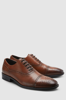 Next Toe Cap Oxford