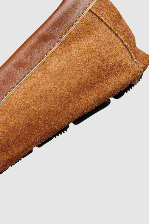 Next Luxury Embossed Moccasin