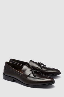 Next Hi Shine Tassel Loafer