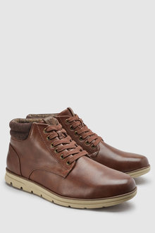 Next Mid Top Collar Boot