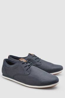 Next Derby Wedge Shoe
