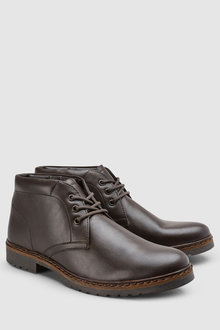 Next Borg Lined Chukka Boot