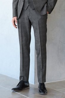 Next Super Skinny Fit Check Suit: Trousers