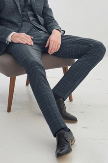 Next Super Skinny Check Suit: Trousers