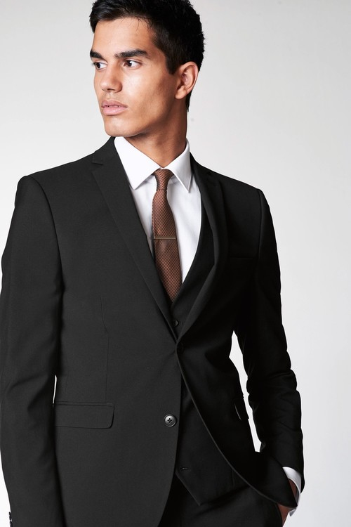 Next Stretch Tonic Suit: Trousers-Skinny Fit