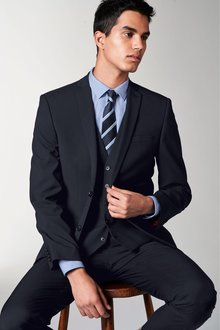 Next Stretch Tonic Suit: Trousers-Slim Fit