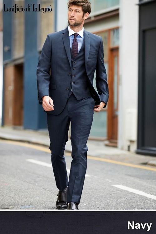 Next Signature Plain Suit: Trousers-Slim Fit