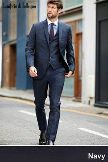 Next Signature Plain Suit: Trousers-Slim Fit