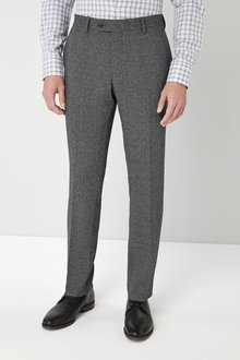 Next Slim Fit Check Suit: Trousers - 226718