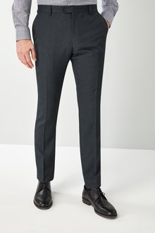 Next Skinny Fit Check Suit: Trousers - 226719