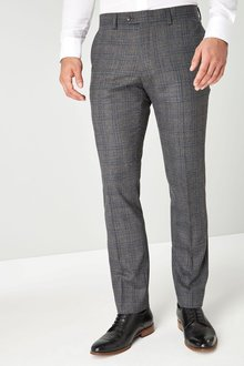 Next Signature Check Suit: Trousers