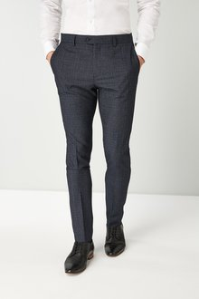 Next Super Skinny Mini Check: Trousers