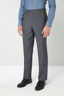 Next Regular Fit Check: Trousers
