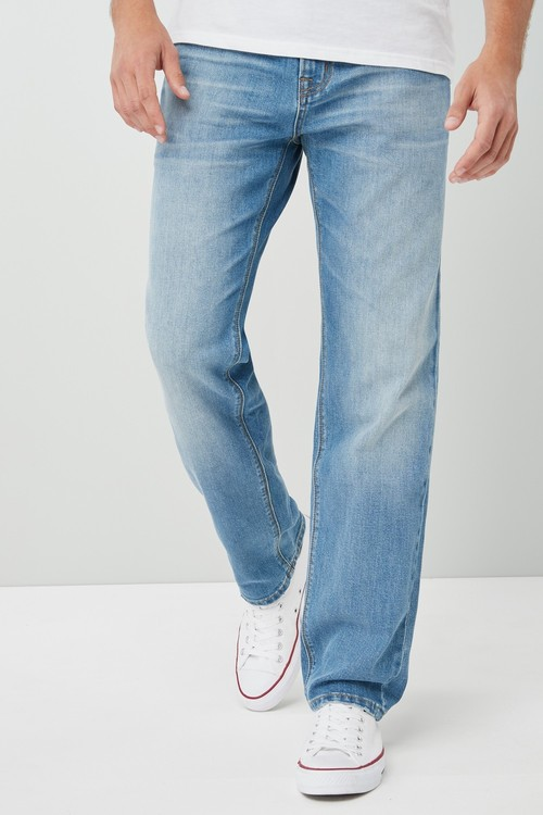 Next Recycled Stretch Jeans-Straight Fit