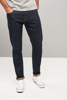 Next Belted Jeans With Stretch-Skinny Fit