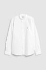 Next Slim Fit Stretch Oxford Grandad Collar Shirt