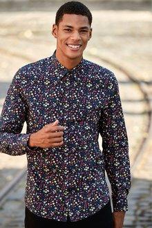 Next Ditsy Floral Print Shirt