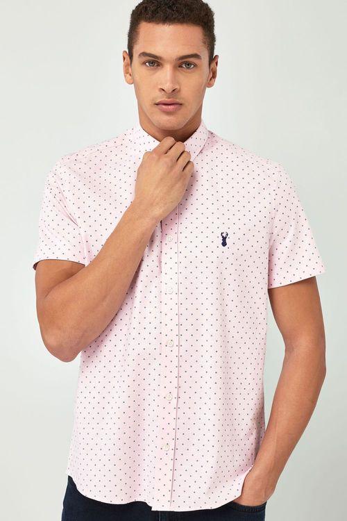 184c1b91 Next Slim Fit Short Sleeve Stretch Oxford Shirt Online | Shop EziBuy