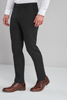 Next Crepe Trousers-Slim Fit