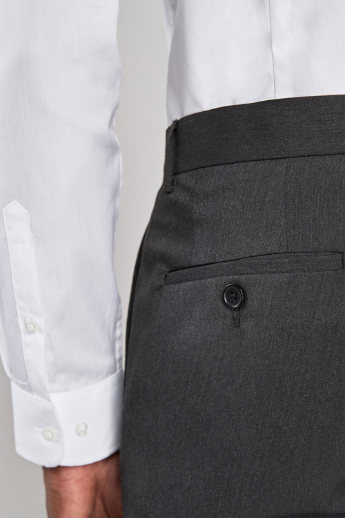 Next Stretch Plain Front Trousers-Super Skinny Fit