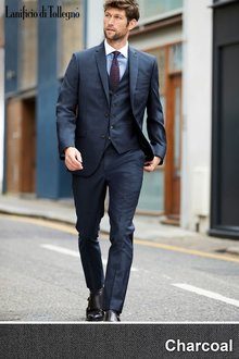 Next Signature Plain Suit: Trousers-Tailored Fit