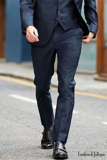 Next Signature Plain Suit: Trousers-Tailored Fit - 226853