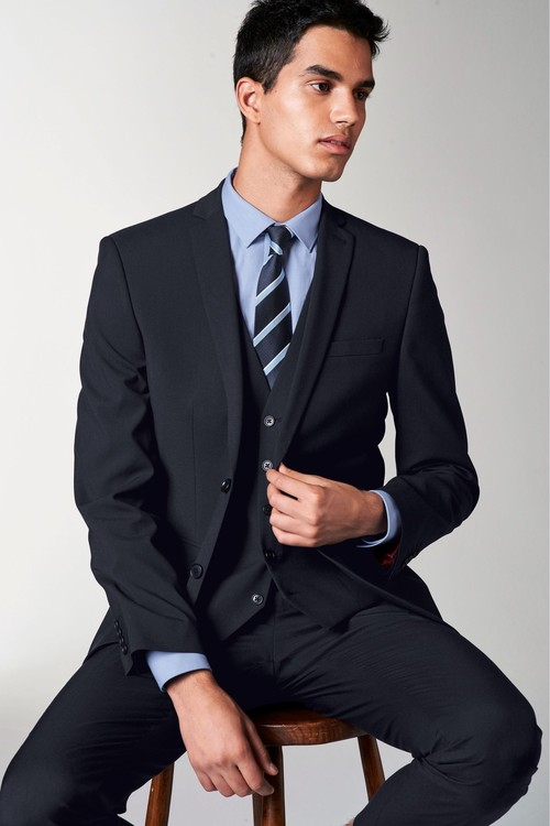 Next Stretch Tonic Suit: Trousers-Super Skinny Fit