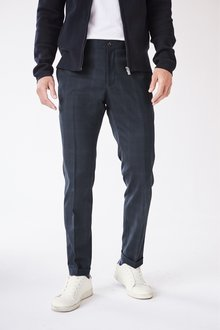 Next Check Skinny Fit Trousers - 226858