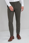 Next Textured Trousers-Skinny Fit