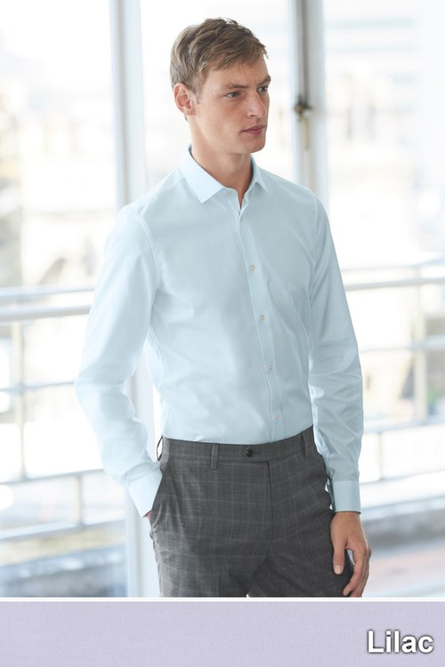 Next Easy Care Shirt-Slim Fit Single Cuff