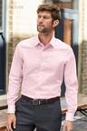 Next Signature Textured Shirt-Regular Fit Single Cuff