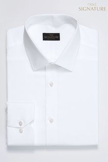 Next Signature Shirt-Regular Fit Single Cuff