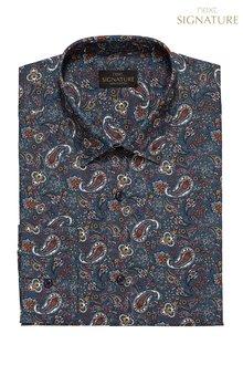 Next Signature Paisley Pattern Shirt