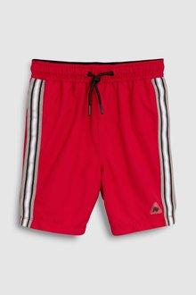 Next Side Stripe Swim Shorts (3mths-16yrs)