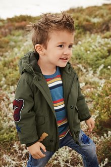 Next Badged Coat (3mths-7yrs)