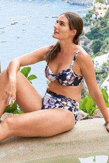 Next Floral Shape Enhancing Bikini Top