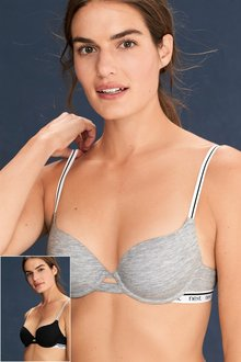 Next Phoebe Lightly Padded Balcony Bras Two Pack